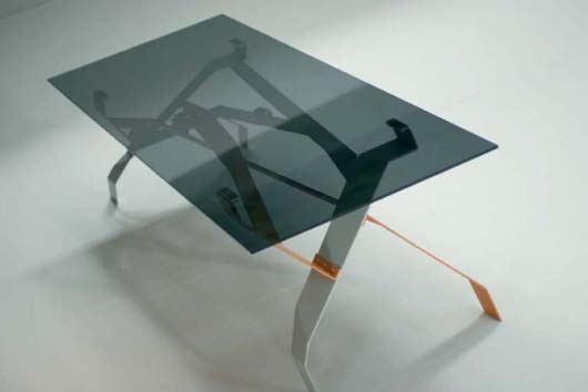 Modern Unique Glass Tables Design Furniture Ideas