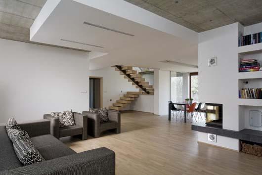 Simple open space design home interior decorating - Interior design open space ...