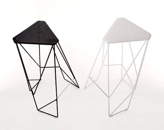 Unique Furniture Design Modern Height Tripod Stool