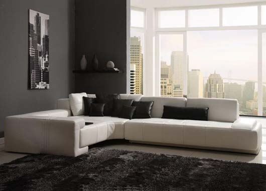 contemporary sofa design home interior decorating