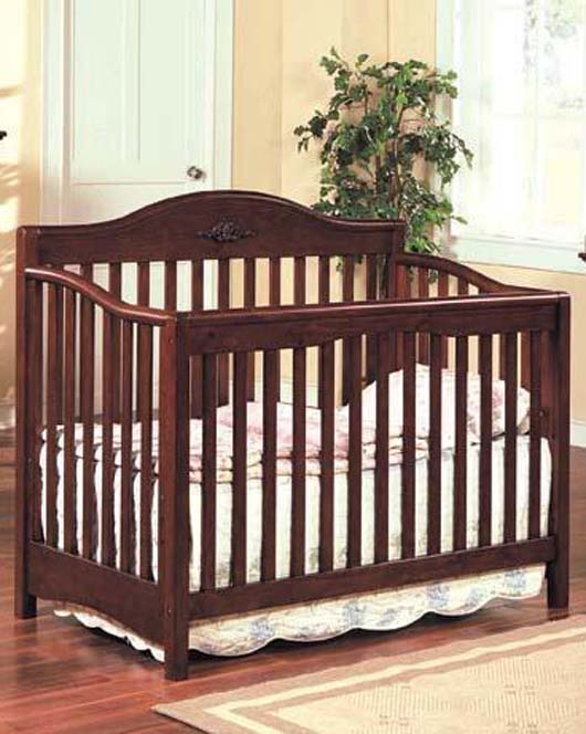 Soft And Elegance Style Pictures Wooden Baby Crib Design Furniture