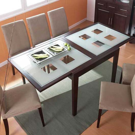 Extendable Dining Table Design Modern Home Furniture Ideas