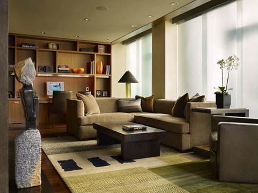 modern interior apartment decorating living room