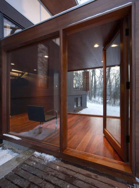 modern home design glass doors and windows