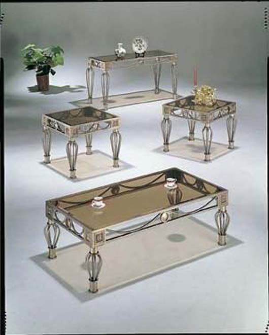 Modern Glass Coffee Table Design Elegance Living Room Furniture