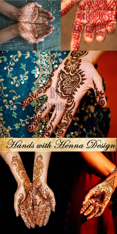 Stock Photo: Hands with Henna Design
