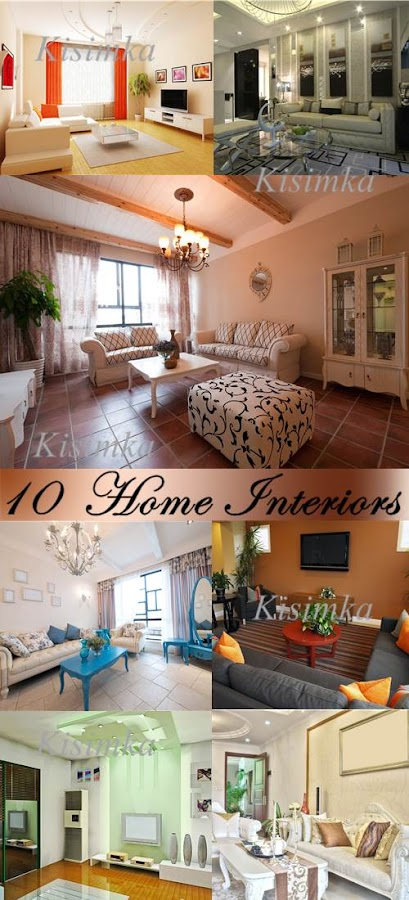 Stock Photo: 10 Home Interiors