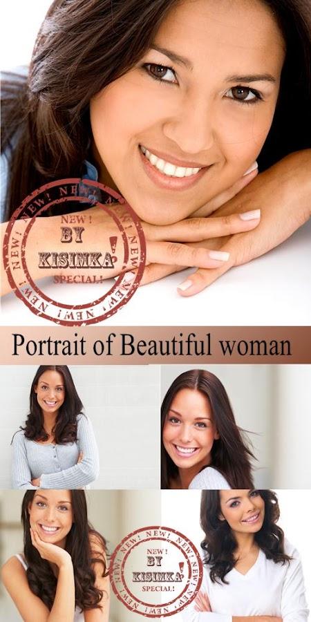 Stock Photo: Portrait of Beautiful woman