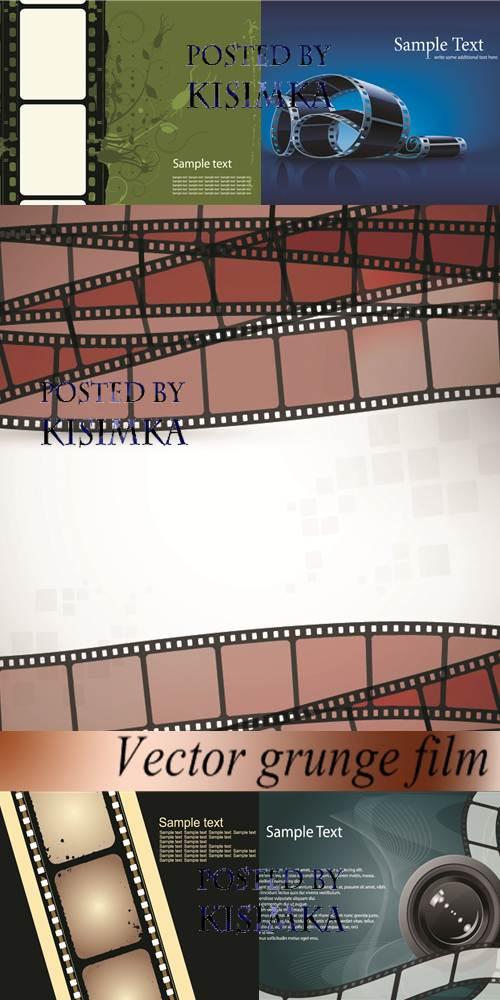 Stock: Vector grunge film 4