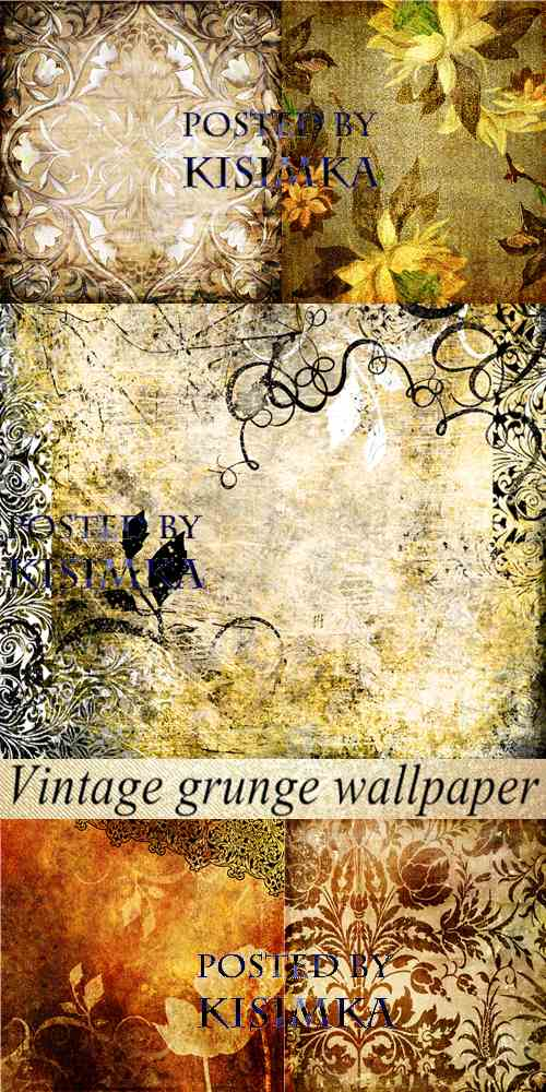 Stock Photo: Vintage grunge wallpaper