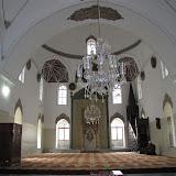looking into prayer hall