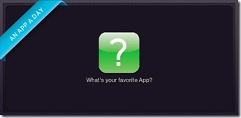what's your favourite app?