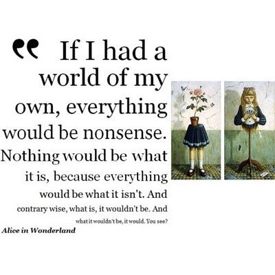 Alice In Wonderland Quote Link