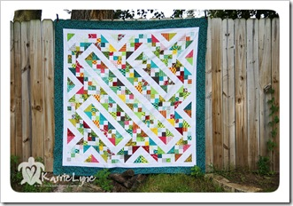 Charm Pack Quilt Along Top