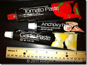 Amore Pastes - Just like a toothpaste tube