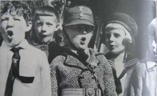 niños alemanes en 1936