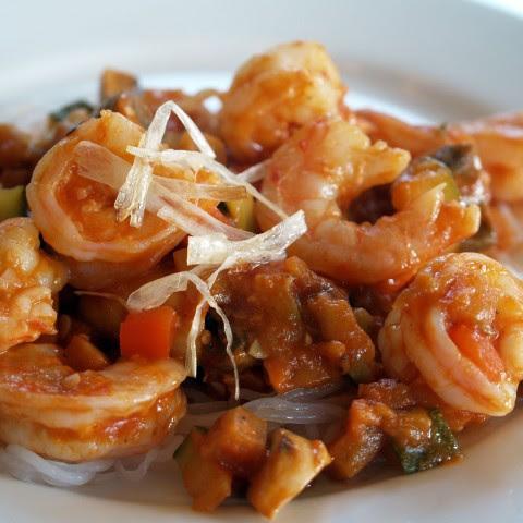 Pan-seared Shrimp With Polenta And Farm Eggs Recipe | Yummly