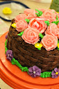 Thumbnail image for Triple Chocolate Fudge Cake and Basket Weave
