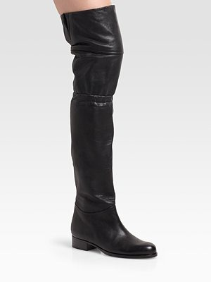 jimmy choo - Ernest Flat Over-The-Knee Boots - 1048