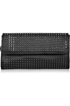 Stella McCartney - Washed studded silk clutch - 445