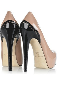 BRIAN ATWOOD - Drama patent-leather pumps - 548