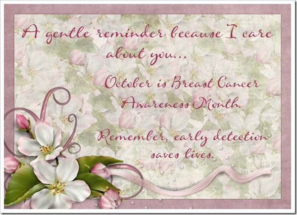 BCA reminder card