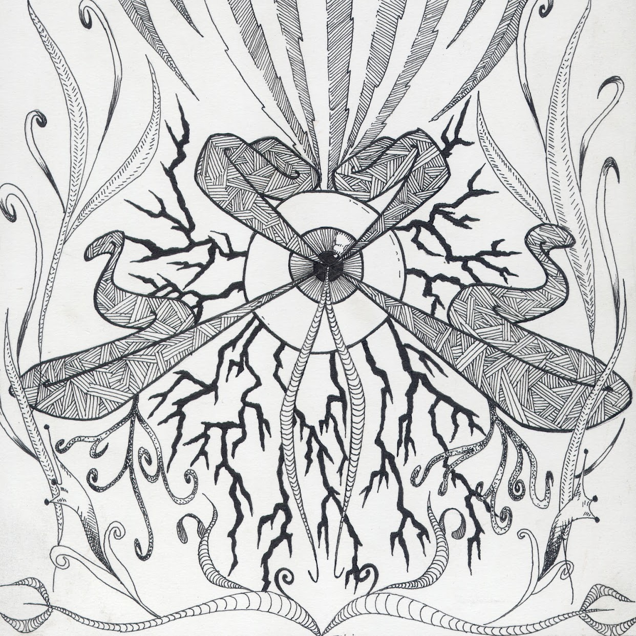 Trippy Stoner Drawings Related Drawing Designs