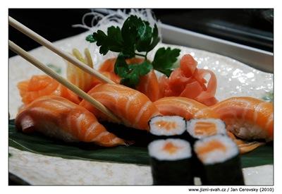 Hanabi Hibachi set pro milovníky lososa