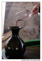 Salon vín odlévání červeného