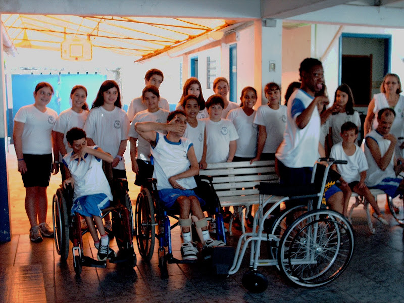 Rotary de São Vicente – Lacre x da cadeira de rodas