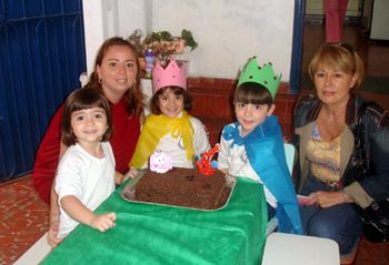 Aniversariantes de 2009 – Unidade 2 Educação Infantil