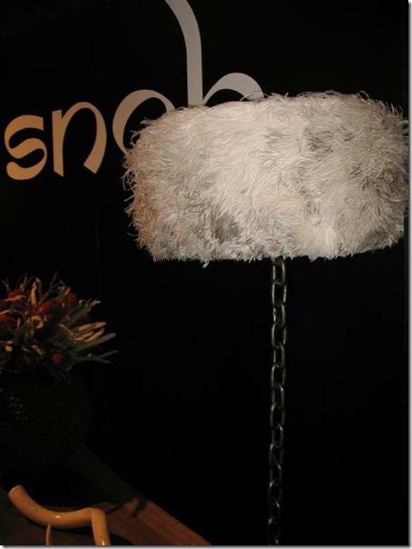 feather lamp snob