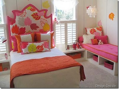 kids-room-girls-bed design dazzle