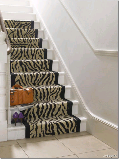 zebra stairs livingetc