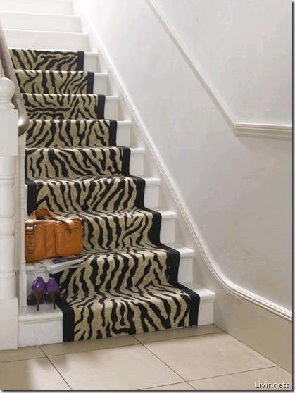 zebra stairs livingetc