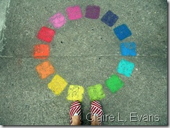 color wheel claire l evan
