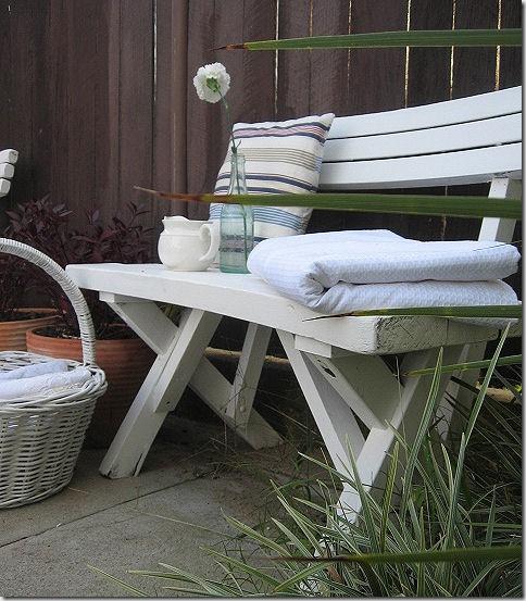 Sarah garden bench