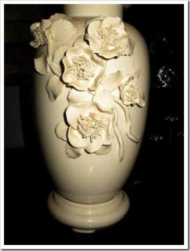 lamp flowers