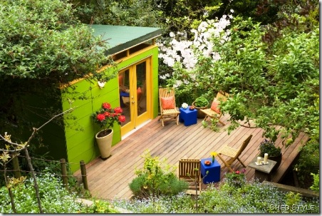 garden shed shed style