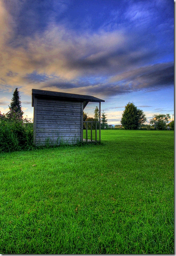 garden shed HDR flickr