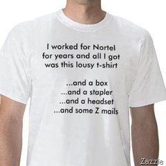 nortel tshirt zazzle