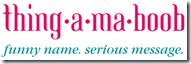 thingamaboob logo