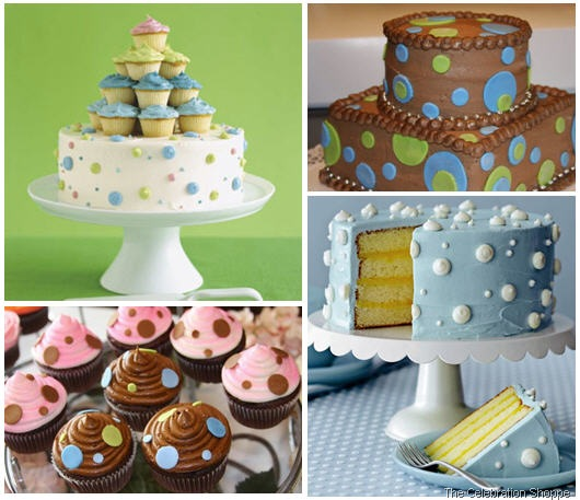 polka-dot-cakes the celebration shoppe