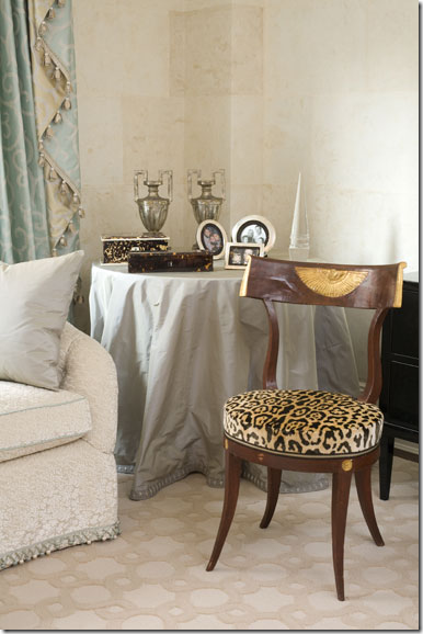 cheetah chair amanda nisbet