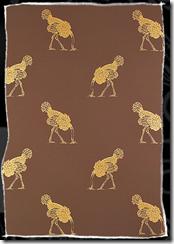 ostrich brown
