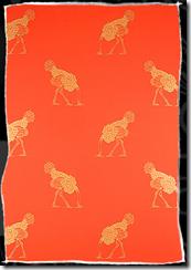 ostrich orange