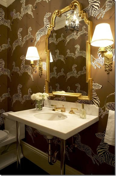 zebra wallpaper massucco warner miller