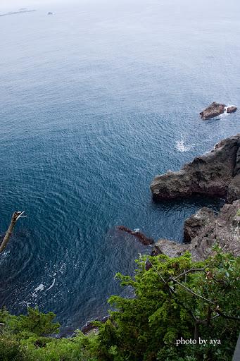 石室神社から眺めた景色