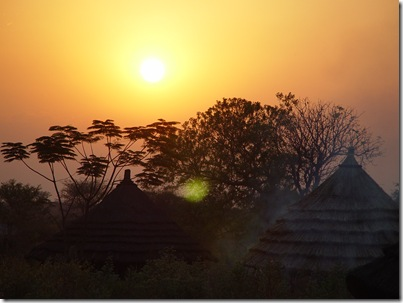 Sunrise over New Sudan
