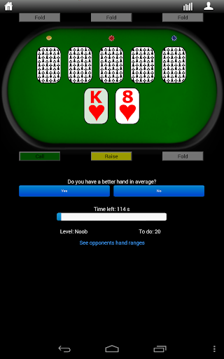Pokertrainer - screenshot